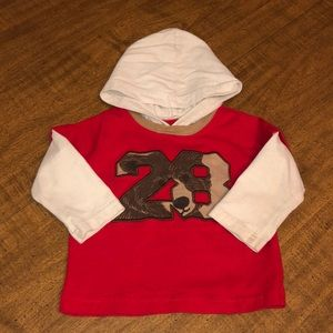 Carter's (Child of Mine) Hoodie..12Mos